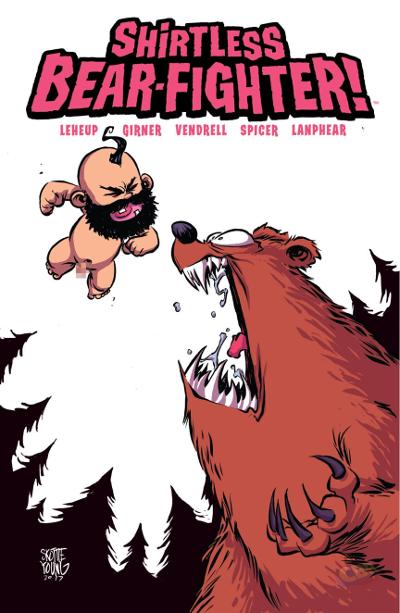 SHIRTLESS BEAR-FIGHTER #2