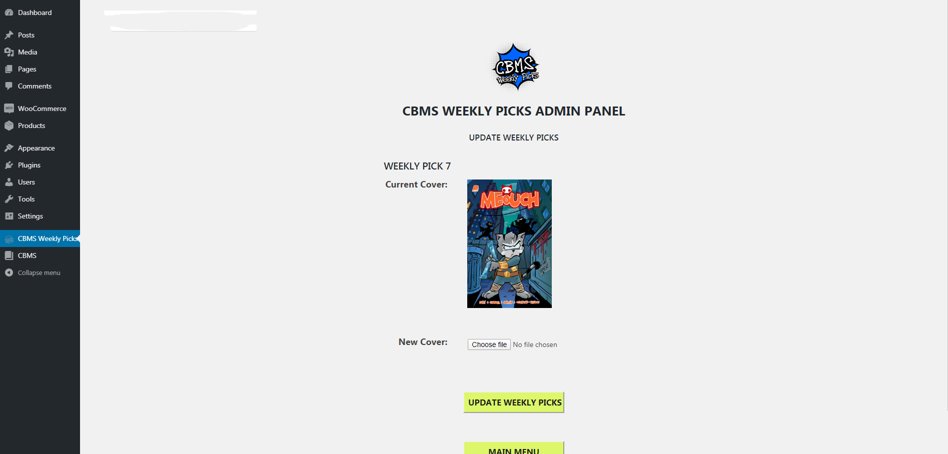 comic book management system weekly picks edit weekly picks